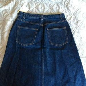 A.P.C. Skirts - A.P.C. Jean Skirt